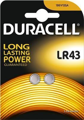 Duracell Knopfzelle LR43