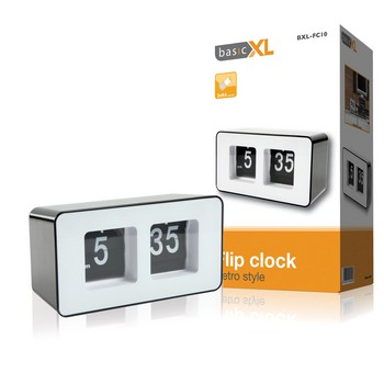 Basis XL Wecker BXL-FC10 Flip clock