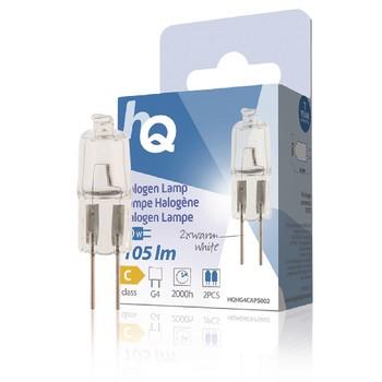 HQ Halogen-Lampe 10W/G4 - 2er