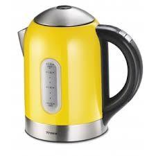 Trisa Wasserkocher Vario Control Gelb