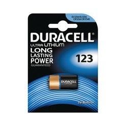 Duracell Batterie 123