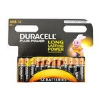 Duracell Batterie Plus AAA 12-er