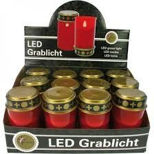 Grablicht LED Rot ohne Batterien