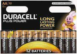 Duracell Batterie Plus AA 12-er
