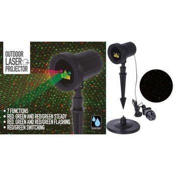 Nedis LED Projektor 9 Funktionen 2 Farbig