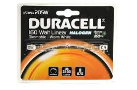Duracell Halogenstab 160-200W