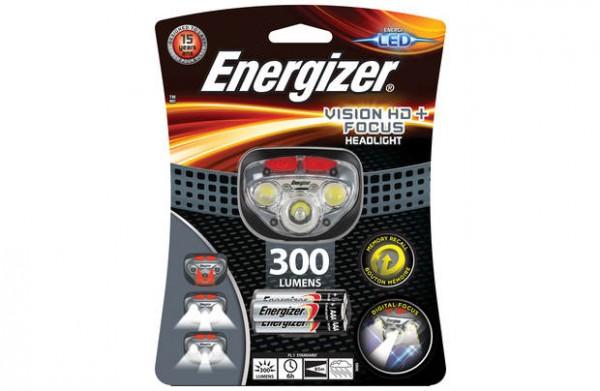 Energizer Stirnlampe Vision HD