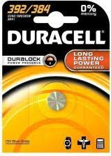 Duracell Knopfzelle 392/384
