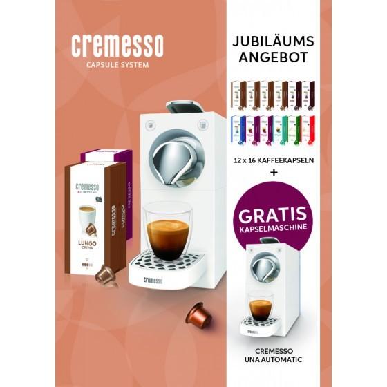 Cremesso Kaffeemaschine UNA Automatic midnight blue