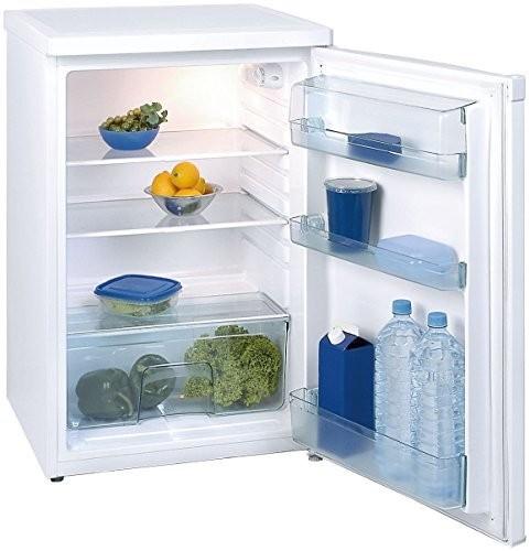 Exquisit Kühlschrank KS16-1 RVA++ Mattschwarz ohne GF